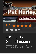 Online Reviews for Pat Hurley Guitar Lessons